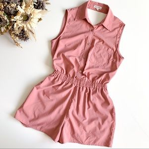 Hot & Delicious Blush Cutout Back Romper